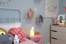 Girls room decor