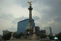 Cidade do México - Mexico City / A Cidade do México é a capital e a mais populosa cidade do México. Ela é um importante centro financeiro das Américas // Mexico City is the capital and most populous city of Mexico. It is one of the most important financial centers in the Americas.