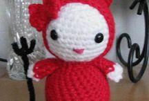 Amigurimi - Tutos Anglais Gratuits / Petits personnages au crochet