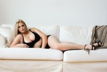 Curvy beauty (which means you don't have to be extremely thin to look pretty)