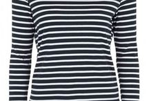 Beautiful Breton Tops / The classic Breton striped top is a spring/summer staple. Even the Duchess of Cambridge is a fan!
