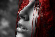 Black/White/Red