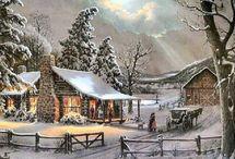 kış manzarasi