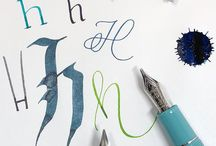 Learning Letters with @GourmetPens