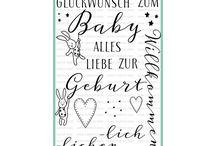 Baby Set- Hase / Hier findet Ihr die schönsten Ideen mit unserem ersten Baby- Stempelset