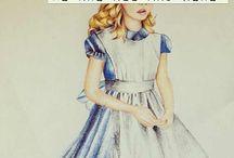 Tatouage Alice
