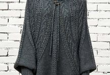 Knitting sweater and gardigan