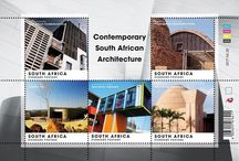 South African Architecture Stamps