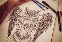 tattoos / by Kelli DeStasio
