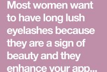 eye lash growth