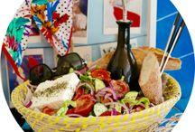 KO's Greek Salad / Greek Salad Video Recipe and Photographs