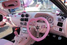 Pink cars / by Deni Fender