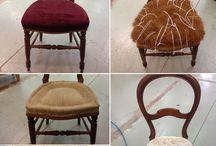 Rénovation de chaise