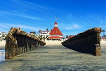 Delscape / Visible from nearly everywhere at The Del, the turret is one of our most beloved symbols. / by Hotel del Coronado