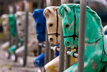 Retro playground equipment / by Strollerparking