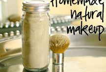 Home made natural makeup