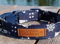 Designer Dog Collars by Doggy Banda / Unique hand made dog collars.