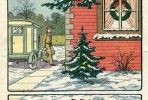 Kreslené Vánoce