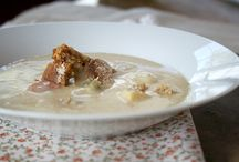 Soups and Stews / Soups that can be eaten year round.