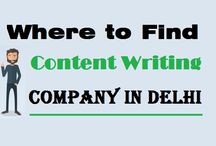 """Where to Find """"Content Writing"""" Company in Delhi"""