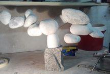 Gravel Tree / Decorative Gravel Tree - Inspired by a bonsai