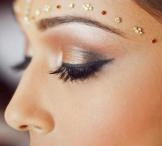 Indian bridal face painting