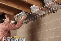 Storage Solutions / Tips to maximize and build new storage space in the home.