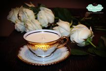 Cup & Candle by Oana B.