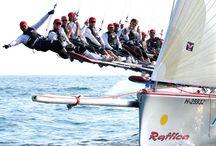 Centomiglia / Sailing event on Lake Garda