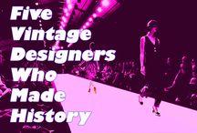 Vintage Fashion Designers