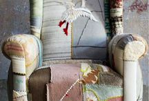 home furniture, interior patchwork