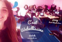 Team Webullissime / Agence web, Webulle, agence de communication, team.