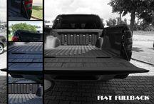 KCN Schutzbeschichtungen für Nfz-Ladeflächen. KCN protection coating for utility vehicles. / We coat utility vehicles of all sorts to protect the loading bed.