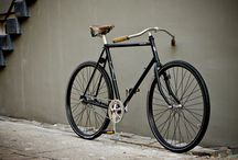 Azor Schokland by Waarmakers / A gentleman's city racer, inspired by classic early 20th century track bikes, design by Waarmakers, built by Azor Bikes in Hoogeveen.