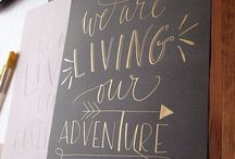 //Hand lettering