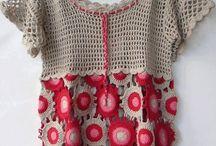 Crochet - blouse
