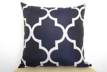 Pillow covers  / these fabric updates for new pillow covers / by Laura Bourdeau
