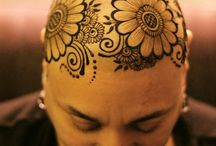 Henna Head tattoos