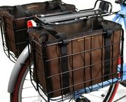 Wald Bicycle Bags & Liners / Wald products are designed to make your bicycle more functional. Each basket bag, liner and trunk is made by Inertia Designs in California, creating bags and liners made to fit inside our baskets. Adding a basket bag or liner reduces the number of plastic and paper grocery bags used while adding a little bit of functionality and style to your basket and bicycle.
