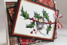Cards- House Mouse Xmas