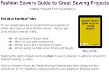 Ebooks / Grab yourself an easy fashion sewing read at www.fashionsewingblog.com  / by Fashion Sewing Blog