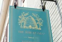 The Hive @ Avenue B {Backyard Bar & Bistro} / Ideas for our backyard hang out spot! / by Crystal Villela Melendez
