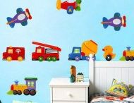 For Kids - Wall Decoration / Removable wall stickers/decals - Now it is easy to give a unique look to your kids' bedroom  and baths with plastic and vinyl removable wall decals.