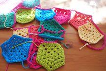 Crochet garlands & bunting