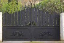 portail et clôture fer forgé