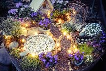 Fairy garden&house