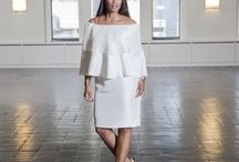 The All White Party / The Color White Has Been A Popular Color For The 2015 Summer. More Celebrities and Bloggers Have Been Ripping The Run Way In All White and Looking pure and Fierce. Plus Size Fashion From Shavonne Dorsey Has Multiple Selections Of Different Styles In White.