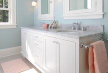Bathroom remodel ideas / by Jennifer Woodson