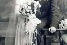 old timey wimey wedding