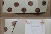 ~ tutorial invitaciones de boda con topos ~ / imágenes vía pinterest
